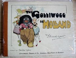 """The Golliwogg in Holland"" by Florence Upton"
