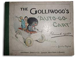 """The Golliwoggs Auto-Go-Cart"" by Florence Upton"