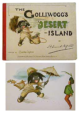 """The Golliwoggs Desert Island"" by Florence Upton"