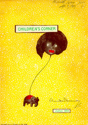 "Cover of the ""Childrens Corner"" suite"
