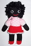 Funky Golly Dolly - Hand-made Knitted Golliwog/Golliwogg Doll