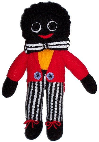Golliwog Golly Boy Girl Doll Knitting Patterns To Buy At