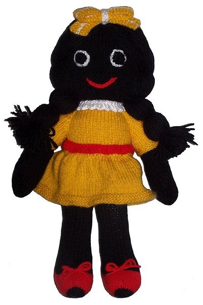 Golliwog Golly Boy Girl Doll Knitting Patterns To Buy At